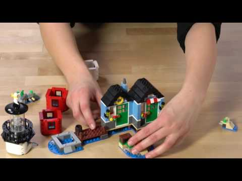 Lighthouse Point - LEGO Creator - 3in1 Product Video 31051