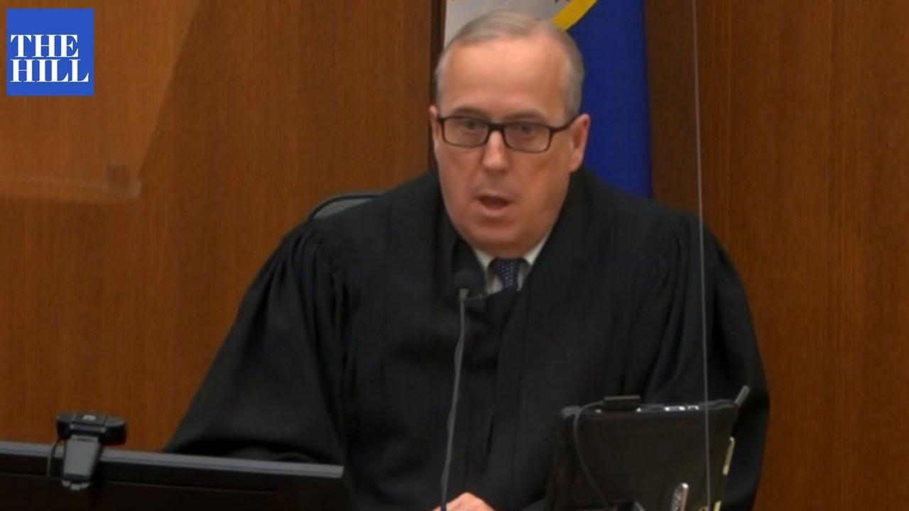 Judge DENIES defense request to acquit Derek Chauvin in George Floyd's death