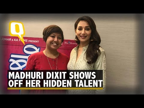 Music Composers Make a Note, Madhuri Dixit Sings like a Pro
