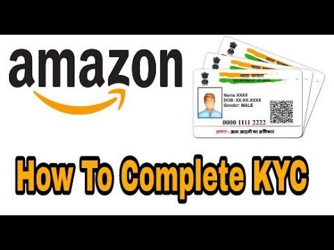 Amazon KYC   Link your Aadhar With Amazon