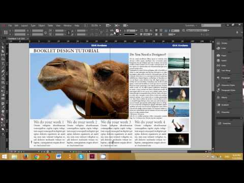 indesign cc booklet design
