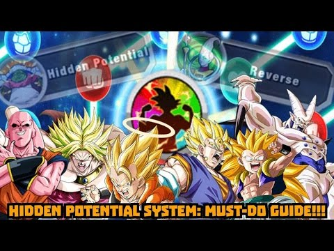 Hidden Potential System: MUST DO GUIDE! Dupe System Explained! DBZ Dokkan Battle
