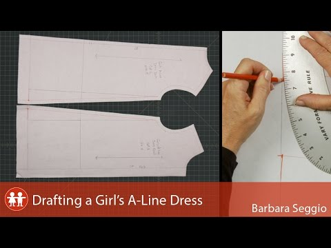Drafting A Girl's A-Line Dress