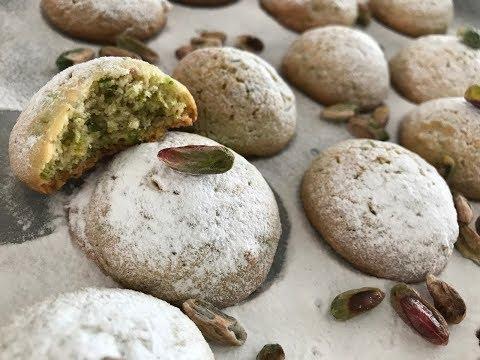 Pistachio Meltaway Cookies - Episode 337 - Baking with Eda