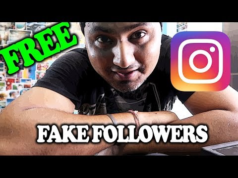 Fake INSTAGRAM Followers for FREE. Should you buy it? [HINDI]