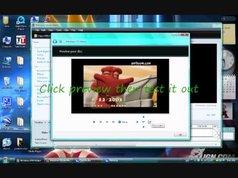 How to make a DVD with a Main Menu