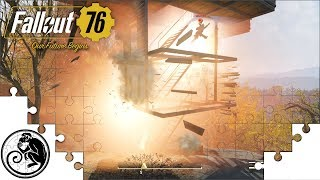 Fallout 76 Base Building- How To Build a Floating Base and
