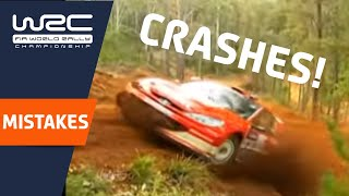 WRC Crashes to forget