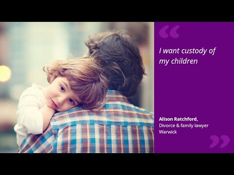 I want custody of my children