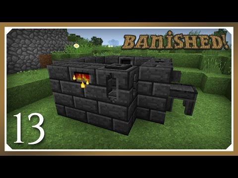 Minecraft Banished Modpack | Tinkers Smeltery! | E13 (Harsh Survival Minecraft 1.10.2)