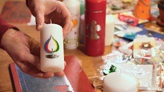 Misijní jarmark – jak se zdobí svíce   Missio interview