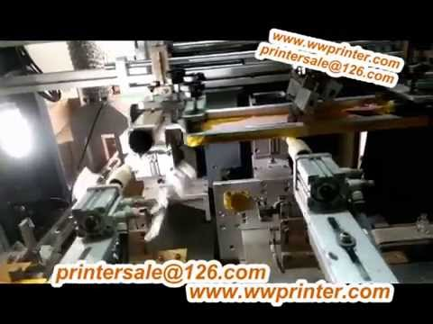 1 Color CNC Glass Bottle Decoration machine for Oval nail Polish Bottle