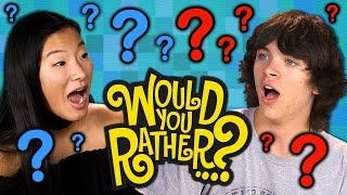 WOULD YOU RATHER?! (Teens React: Gaming)
