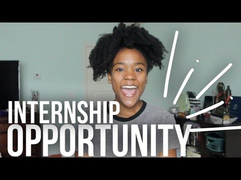 Internship Opportunity! HIGH SCHOOL and COLLEGE