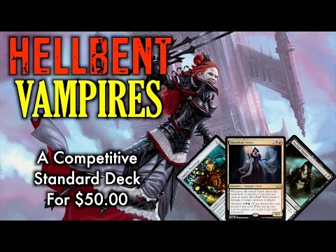 MTG - Hellbent Vampires! Start Playing Standard with this Budget Deck for Magic: The Gathering