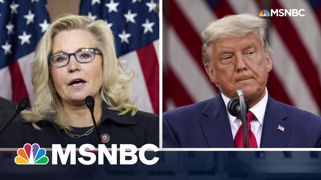 Liz Cheney Blasts GOP's Trump Obsession | The 11th Hour | MSNBC