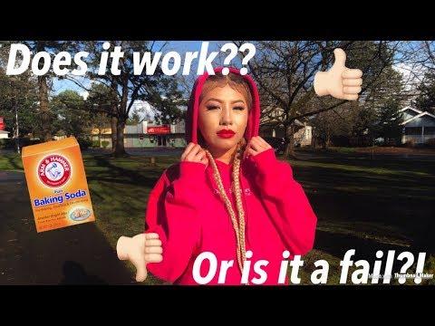 BAKING SODA HAIR REMOVAL HACK! | ASIAN BARBIES