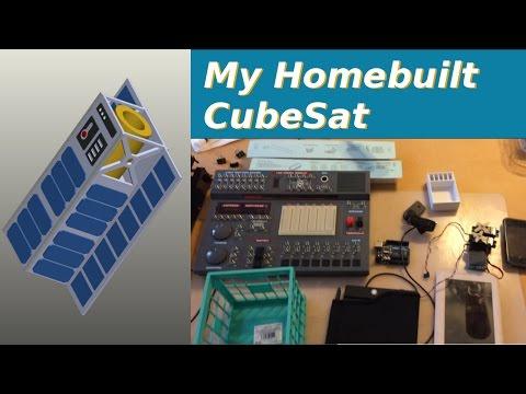 Homebuilt Cubesat - Space Telescope - Vlog #1