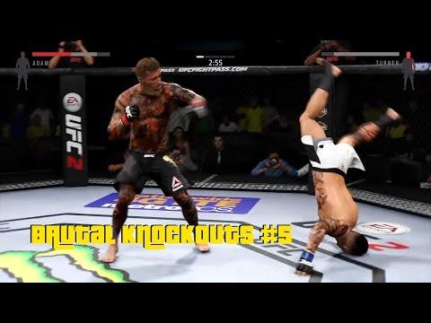 EA Sports UFC 2 - Best Brutal Knockouts Compilation #5