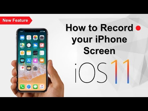 How to Record your iPhone Screen Free - iOS 11 (iPhone, iPad, & iPod)