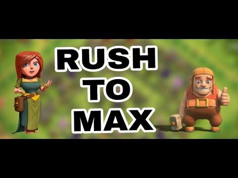HOW TO MAX YOUR BASE FROM RUSH IN COC | TIPS FOR RUSH TO MAX IN CLASH OF CLANS ( HINDI )