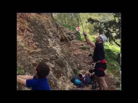 Rock climbing Mom Theme Song