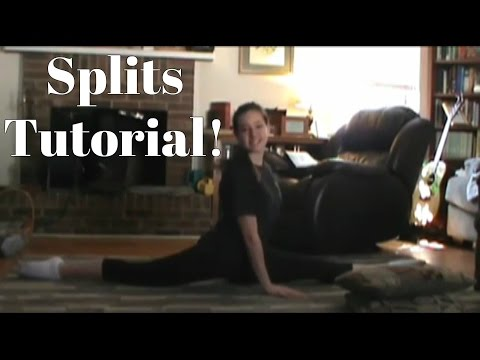 How To Get Your Splits All The Way Down | Best Stretches For Getting Your Splits