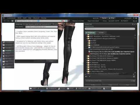 Liquid Mesh & Mesh Deformer in Second Life