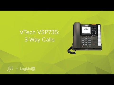 VTech VSP735: 3-Way Calls