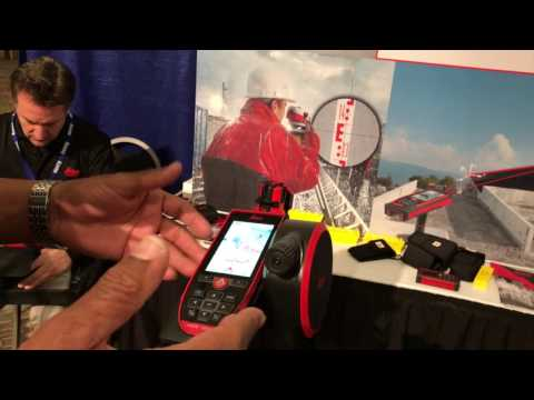 Leica Disto S910 Laser Measures in Daylight