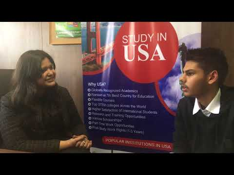 Student Interview after getting USA Study Visa through SIEC Chandigarh | Study in USA