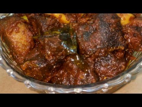 How to make fish pickle kerala style(മീൻ  അച്ചാർ )