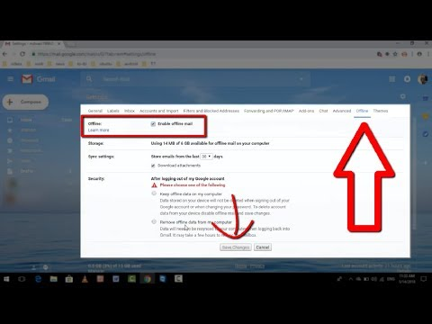 How to Enable Gmails New Offline Mode 2018