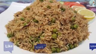 Matar Pulao (Peas Pulao) مٹر پلاؤ / Cook With Saima