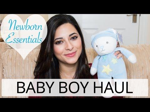 BABY BOY HAUL - Newborn Essentials Pregnancy Vlog | Ysis Lorenna