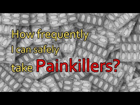 How frequently I can safely take Painkillers? - Dr. Brij Mohan Makkar