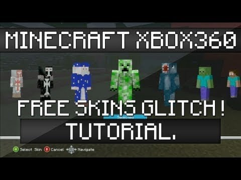 Minecraft Xbox360 Edition Skin Pack Glitch ***PATCHED***