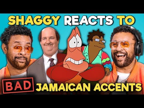 Xxx Mp4 Shaggy Reacts To BAD Jamaican Accents In TV And Movies The Office The Little Mermaid Futurama 3gp Sex