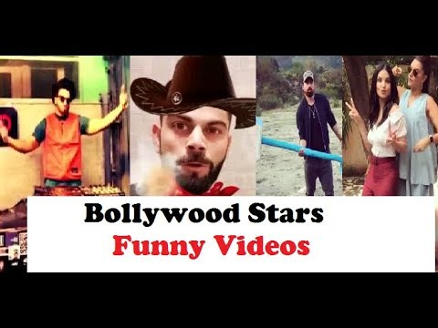 Funny Compilation Video of Bollywood Stars