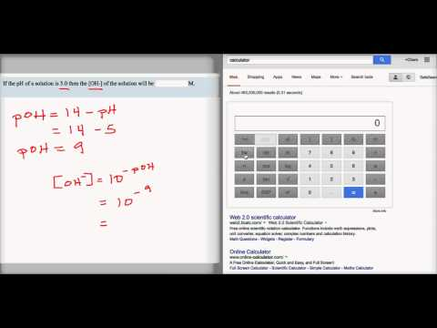 How to Input Inverse Logarithms Into Google Calculator