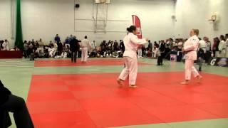 Rebecca Telfer Fight 1