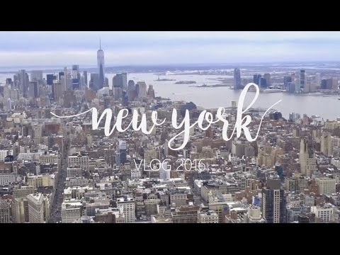 New York 2016 Vlog - 7 Days in New York City and State