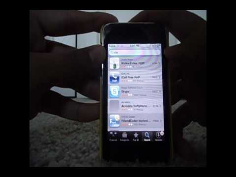 FREE CALLING EVERYWHERE ON IPHONE AND ITOUCH