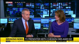 Keith Chegwin Dies: Sky News Breaks