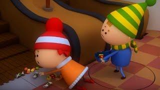 Аркадий Паровозов - Почему опасно стоять на пути у движущегося эскалатора - мультфильм детям