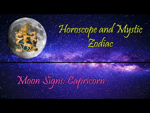 What Do Moon Signs Mean: CAPRICORN
