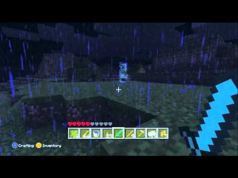 Minecraft 360: SUPER CHARGED CREEPER!!