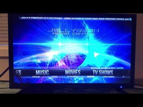 Jellybean TV Screen Format Change