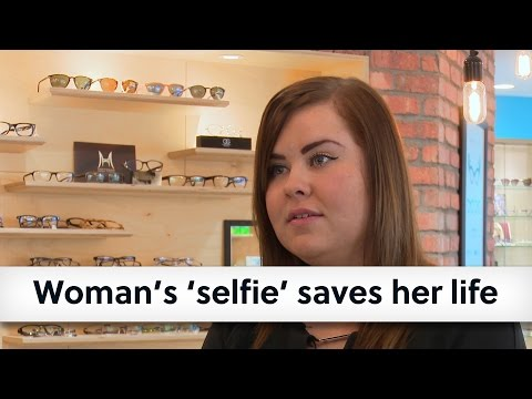 Woman's 'selfie' saves her life - public reminded to show their eyes some love this Valentine's