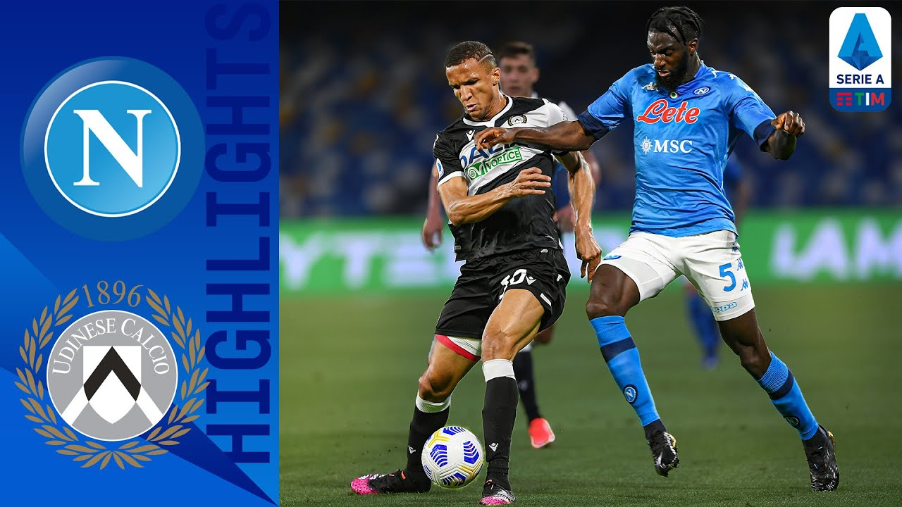Napoli 5-1 Udinese   Napoli Makes Short Work Of Udinese Taking Home 5 Goals   Serie A TIM